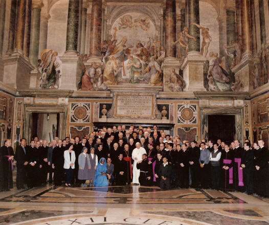 International Conference on Celibacy,  Rome - May 1993. Click here for a larger view.